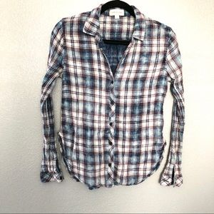 Anthropologie Cloth and Stone Button Down Shirt